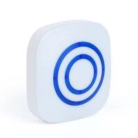 Oobest Nouveauté Sans Fil Télécommande Led Nuit Lumière Fond Bleu Détecteur de Mouvement Led Lampe de Nuit Pour La Maison Garde-Robe Étage D'escalier