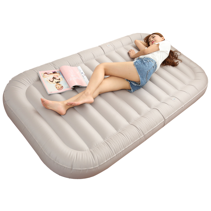 4242 Good Jiayou sofa tatami inflatable air cushion single home lunch lazy bed chair electric lunch box double layer stainless steel liner cooking lunch boxes multifunction plug in lunch box steamed rice steamer