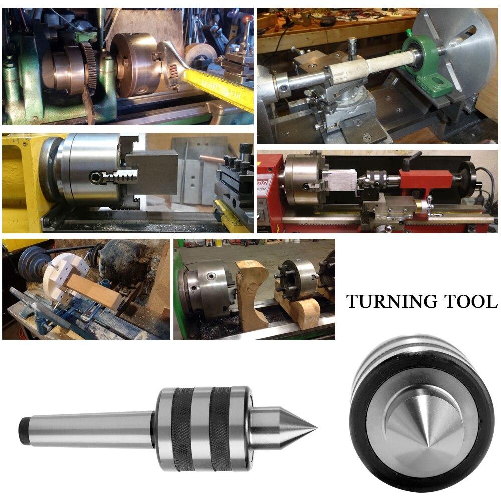Image 5 - Mt1/mt2 centro vivo morse atarraxamento rolamento centro  tailstock 0.001mm 60 graus para cnc cortador torno ferramenta para metal  madeira torneamentoFerr. torneam.   - AliExpress