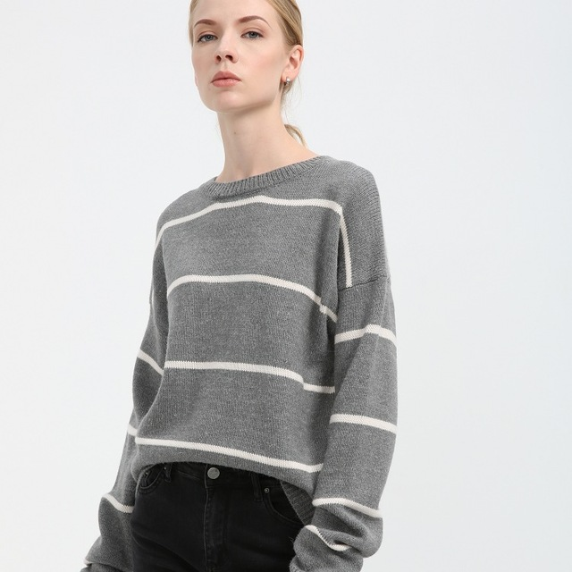 d76ece10d562 wool sweater and pullover jumper women oversized knitted thick ...