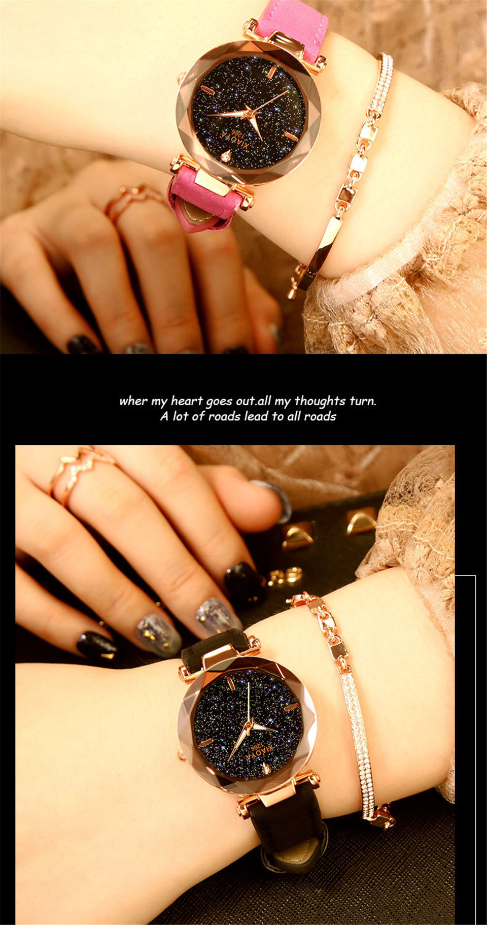 2018 Starry Sky Watch Women Minimalist Top Brand Luxury Wrist Watch For Ladies Female Clock Damski Montre Femme (11)