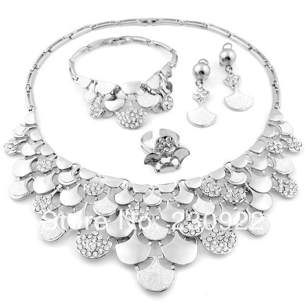 2014 bridesmaid jewelry sets Pakistani bridal dubai gold jewelry