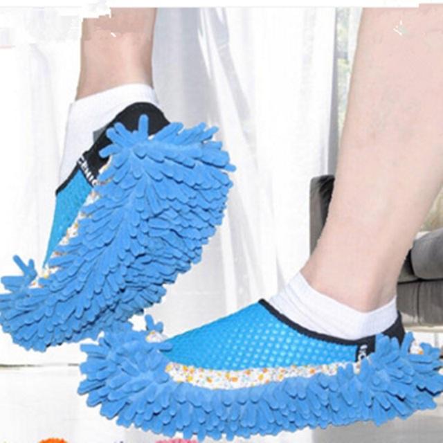 Mulheres e homens Sapatos de Interior Covers Bolsas Ajustável Absorção de galochas Reciclável Bolsas Sapatos Para andar de limpeza de janelas