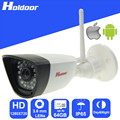 Holdoor Wi-Fi Камеры Безопасности 1.0 Мегапиксельная Видеонаблюдения CMOS 3.6 мм HD Объектив 720 P Водонепроницаемый наружный ИК-день и ночь