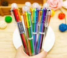 Шариковая ручка 6 цветов в одном наборе 3 шт шариковая для письма