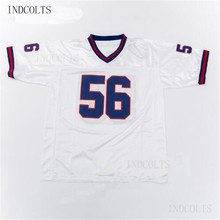 Throwback  56 Lawrence Taylor Embroidered Retro star Football Jersey free  shipping INDCOLTS(China) 187edf120