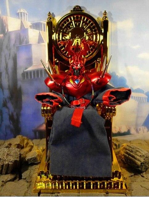 MC Metal Club Saint Seiya Cloth Myth EX Gold Gemini Pope Throne chair