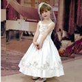007 hot sale flower girl dresses for wedding party children dress White first communion dresses plus size in stock