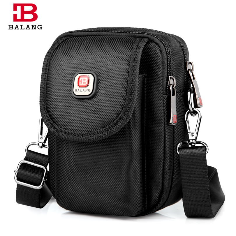 BALANG Men Messenger Bags Small Casual Waterproof Shoulder Bag for Men's High Quality Crossbody Bags Bolsas Male Unisex casual canvas women men satchel shoulder bags high quality crossbody messenger bags men military travel bag business leisure bag