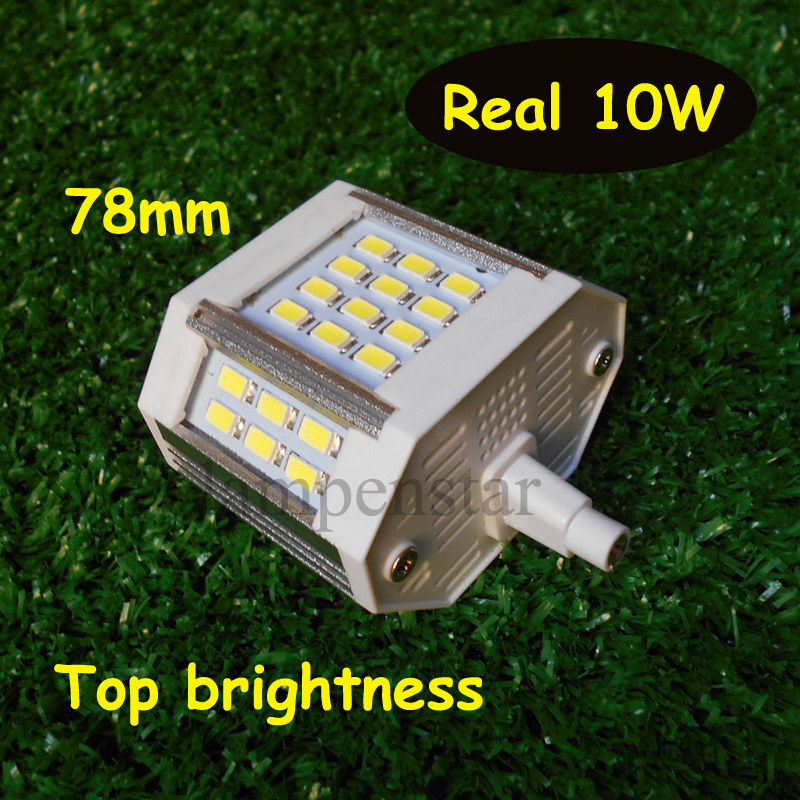 R7S LED Lamp 10w 20w 25w 30w 220V 5730 Led Bulb Light 78mm 118mm Horizontal Plug Light Lawn Lamp Halogen Floodlight high power dimmable 189mm led r7s light 50w cob r7s led lamp with cooling fan replace 500w halogen lamp