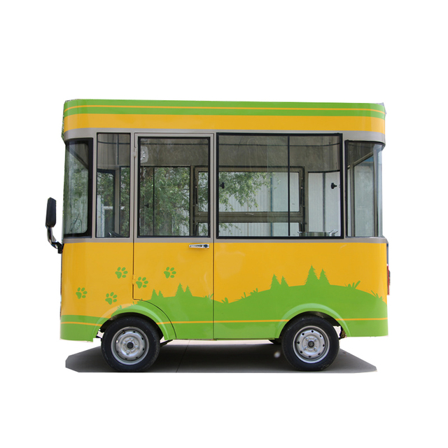 outdoor use electric food cart trailer for sale