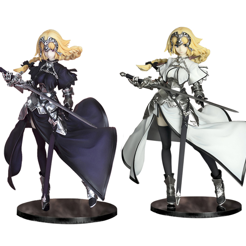 J Ghee 20CM Fate/Apocrypha Jeanne d'Arc Saber White & Black Ruler Ver. 1/8 Scale Painted Figure Collectible Model Toy le fate топ