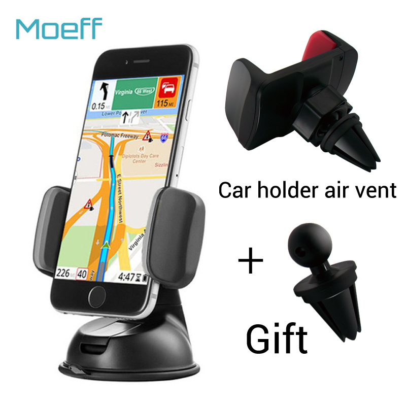 Universal Car Mobile Phone Holder Stand Mount Slicone Sucker Windshield 360
