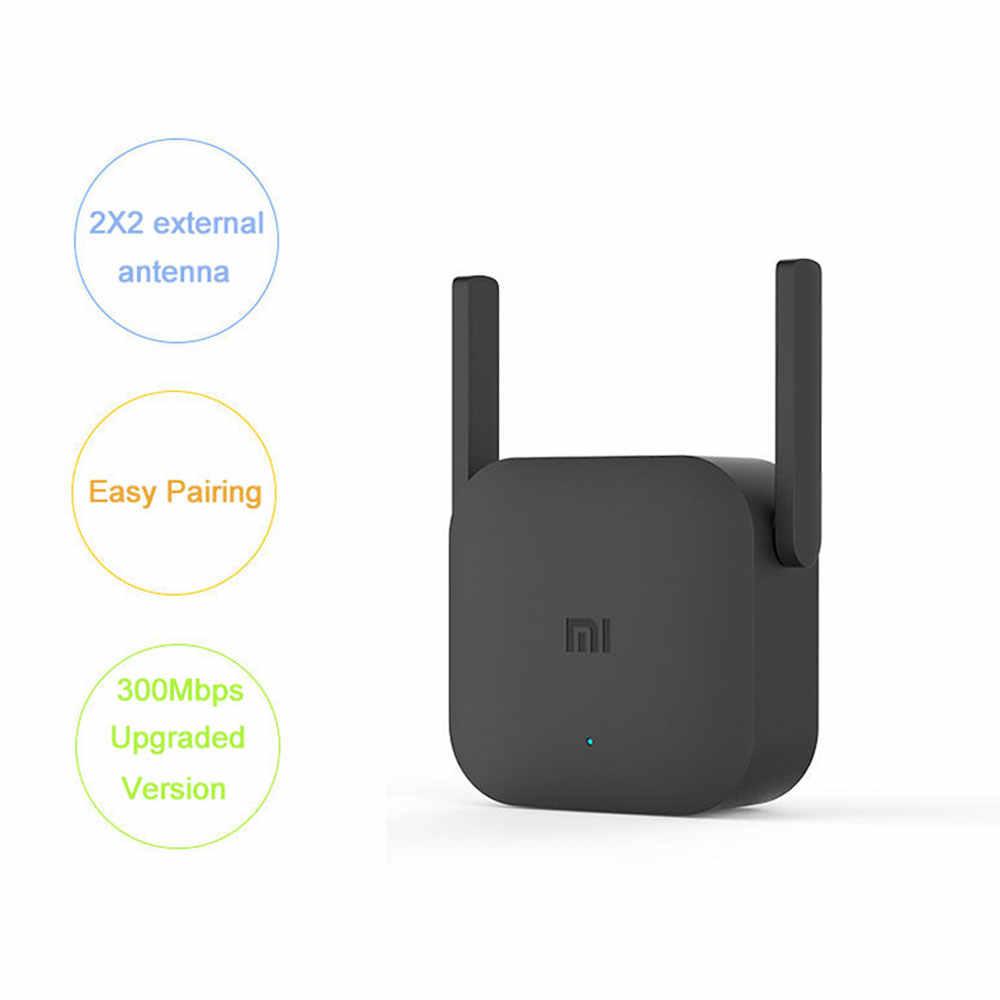 Xiaomi mi jia repetidor WiFi Pro 300M mi amplificador red enrutador expansor alimentación extensor Router 2 antena Router Wi-Fi
