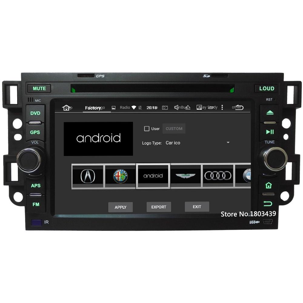 4G WIFI Android 8.0 Octa core 4GB RAM 32GB ROM Car DVD Multimedia Player For Chevrolet Epica Aveo Optra Captiva Spark Matiz