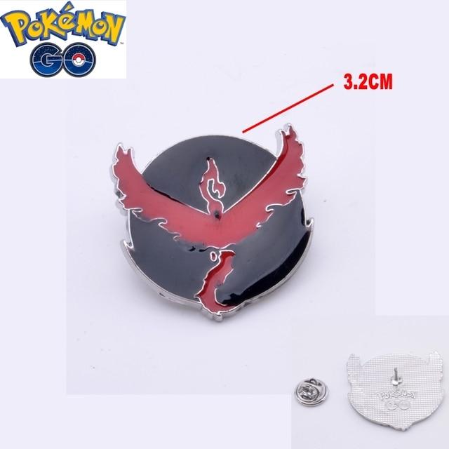 Набор брошек 8 шт. Pokemon Go 4