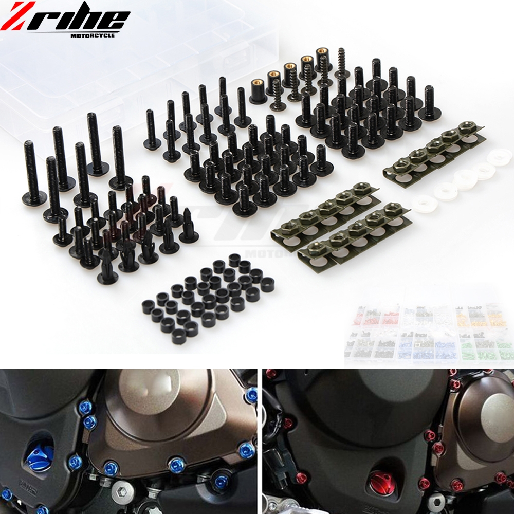 For SUZUKI SV 650 SV650 GSXR 600 750 1000 K1 K4 K6 K7 K8 K9 L1 Fairings Universal Motorcycle Fairing Body Bolts Spire Screw Nut цена