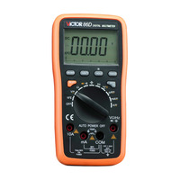 Digital Multimeter Meter VC86D Victor Multimeter VC30274,meter with RS232 and USB jack VICTOR 86D