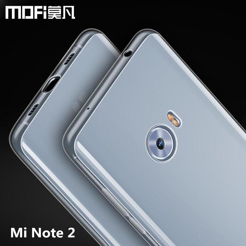 Xiaomi Mi Hinweis 2 fall silicon abdeckung MOFi Mi Hinweis 2 fall TPU weiche rückseitige abdeckung Xiaomi Note2 telefon fall 5,7 Snapdragon 821 prime