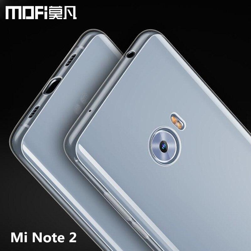 Xiaomi Mi Note 2 case silicon cover MOFi Mi Note 2 case TPU soft back cover Xiaomi Note2 phone case 5.7 Snapdragon 821 prime