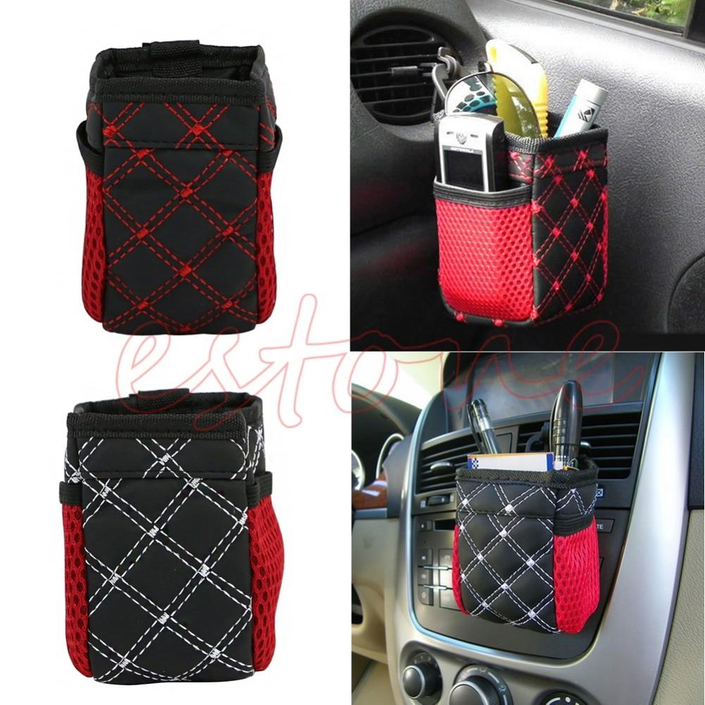 Заднее сиденье автомобиля стороне аккуратно чистая хранения сумка держатель Организатор Pounch для телефона ...