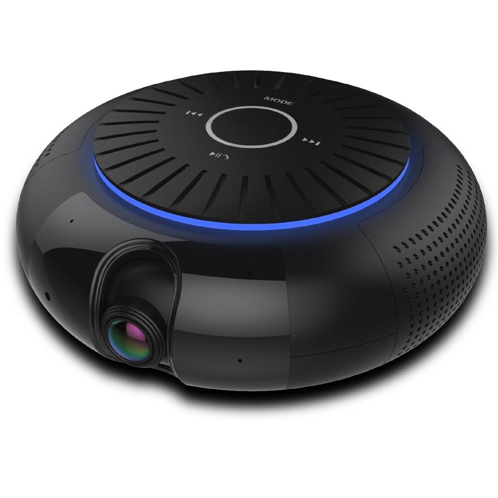 Панорамный 180 градусов 1080 P HD Wifi IP Камера встроенный 5 Вт Hifi Системы Bluetooth Динамик Интернет музыки Бесплатная приложение Remote Управление