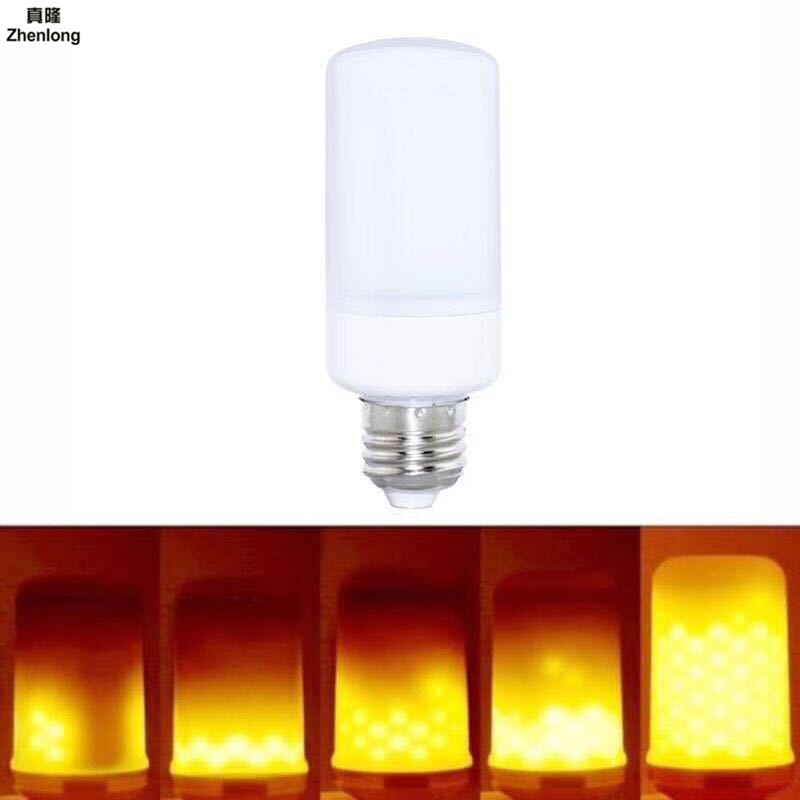 E27 E14 LED Flame Effect Strobe Light E12 E26 B22 Fire Light Bulbs Flickering Emulation Vintage Decorative Lamps Stage Lighting in Stage Lighting Effect from Lights Lighting