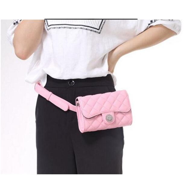 2017 de La Moda Bolso de La Cintura de Las Mujeres Sólidas Del Teléfono Bolsa de Cinturón de Dinero Bolso de La Cintura