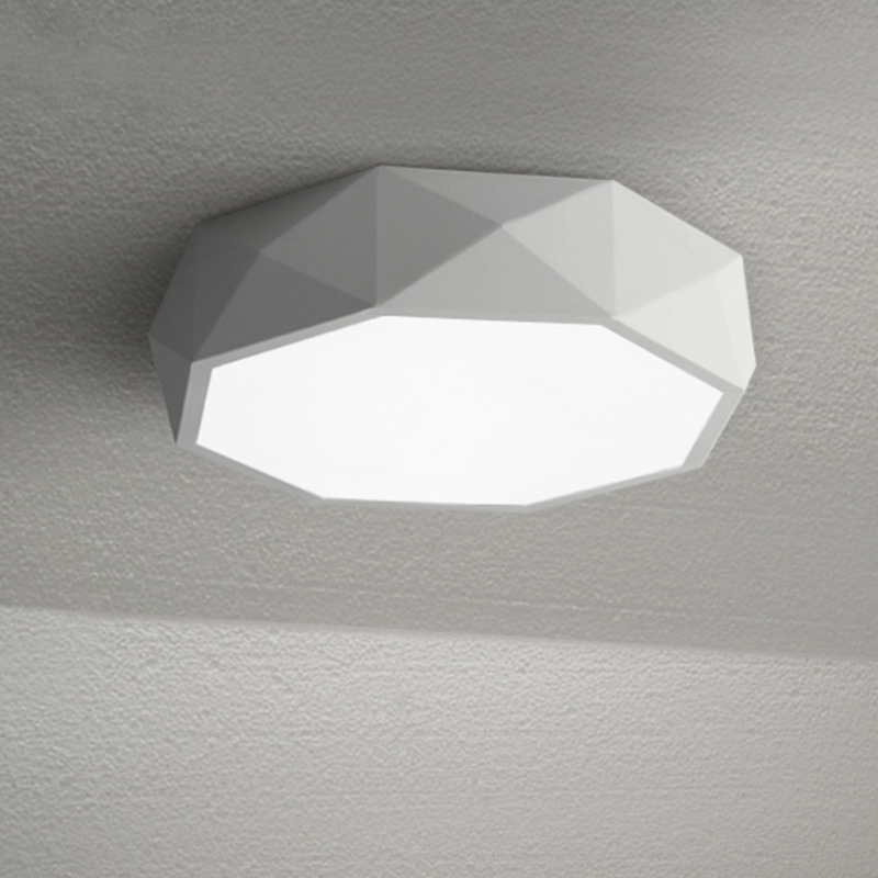 Minimalist modern creative personality living room bedroom lamp study different circular ceiling decorated Nordic LED