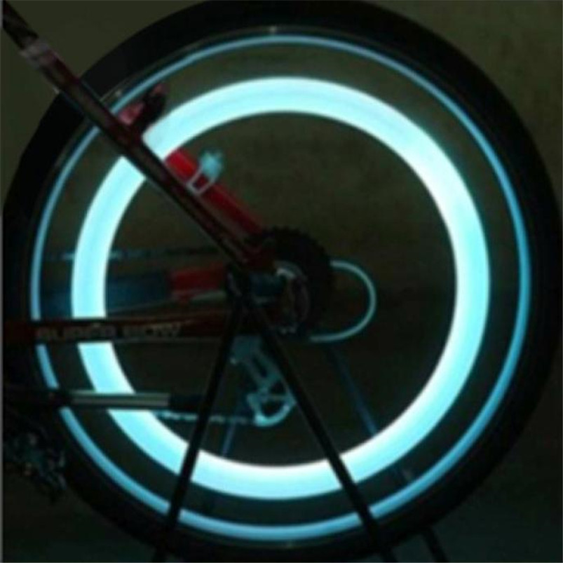 Super LED Bike Lights Spoke Wire Tire Tyre Wheel Bicycle LED Multicolor Bright Lamp shockproof Cycling Accessories #4S09  (7)