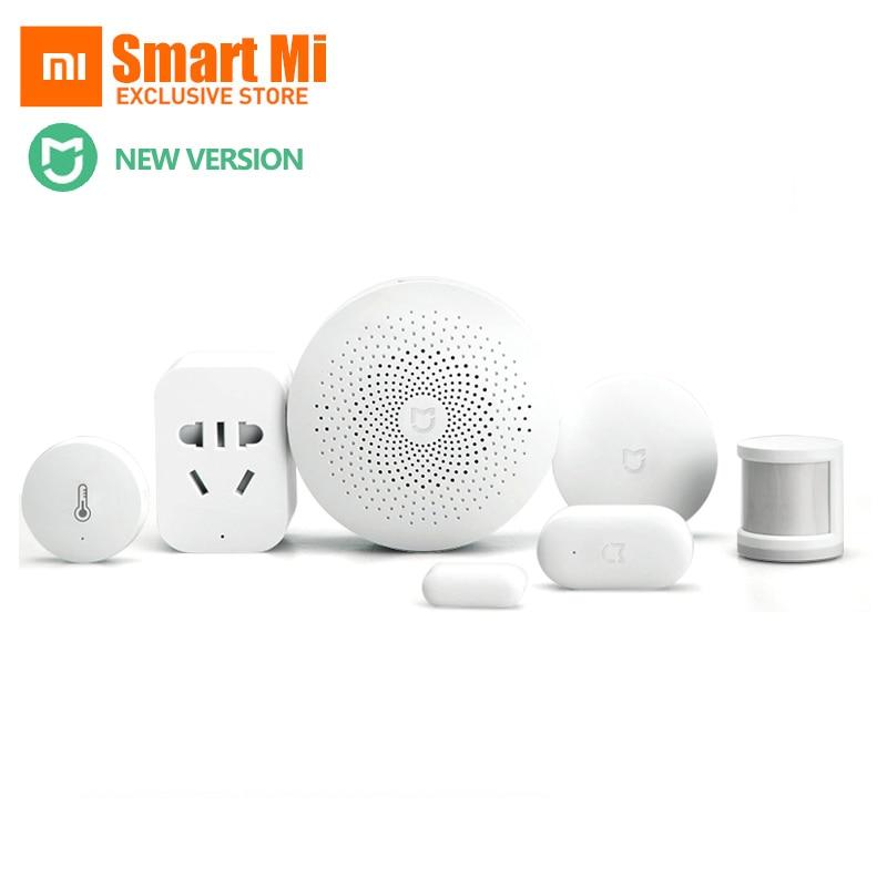 Originale Xiaomi Smart Home Imposta Gateway 2 Porte E Finestre Sensore Del Corpo Umano Interruttore Senza Fili Multifunzionale Dispositivi Intelligenti Kit