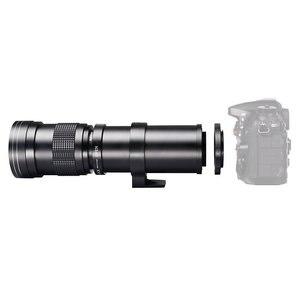 Image 3 - JINTU 420 800mm F/8.3 16 آلة تكبير تليفوتوغرافي عدسات لكاميرات كانون EOS 650D 750D 550D 800D 1200D 200D 1300 5DII 5D3 5DIV 6D كاميرا رقمية