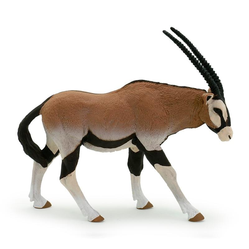 Papo wild animal Oryx Antelope model toy dolls Щипцы