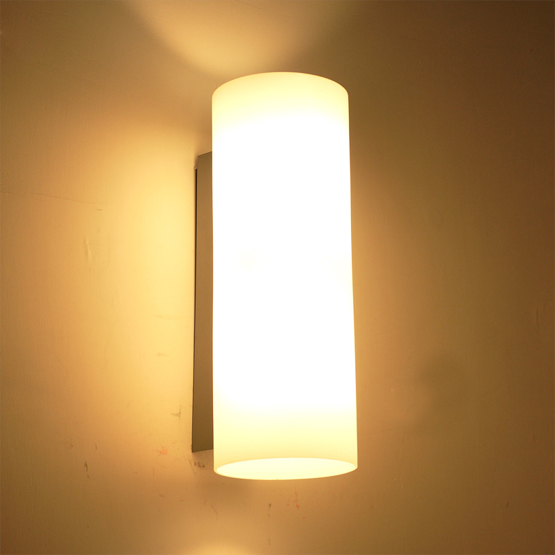 2015 Modern Brief Wall Sconce Glass Bed Light Reading E14 Led Living Room Parede Wall Lights For Home Mirror Apliques Pared New bedside wooden wall lamp wood glass aisle wall lights lighting for living room modern wall sconce lights aplique de la pared