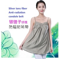 Radiation Protection Suits Maternity Silver Fiber Jumper Skirt Prevents Computer Radiation Pregnant Women Clothing Iscomfortable