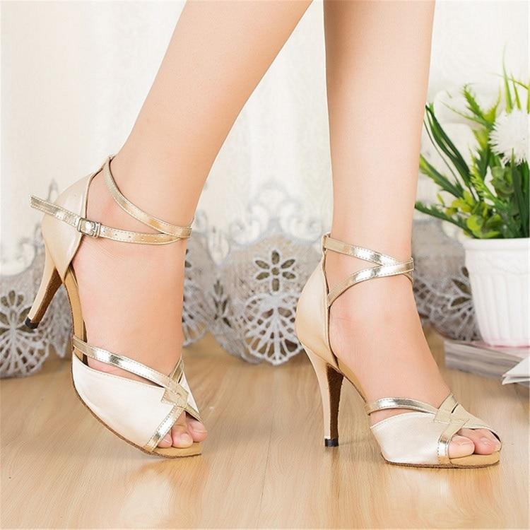 De W8wrvpwq Mujer Promoción Salsa Zapatos Baile Para Tango Salón x8CqwfA