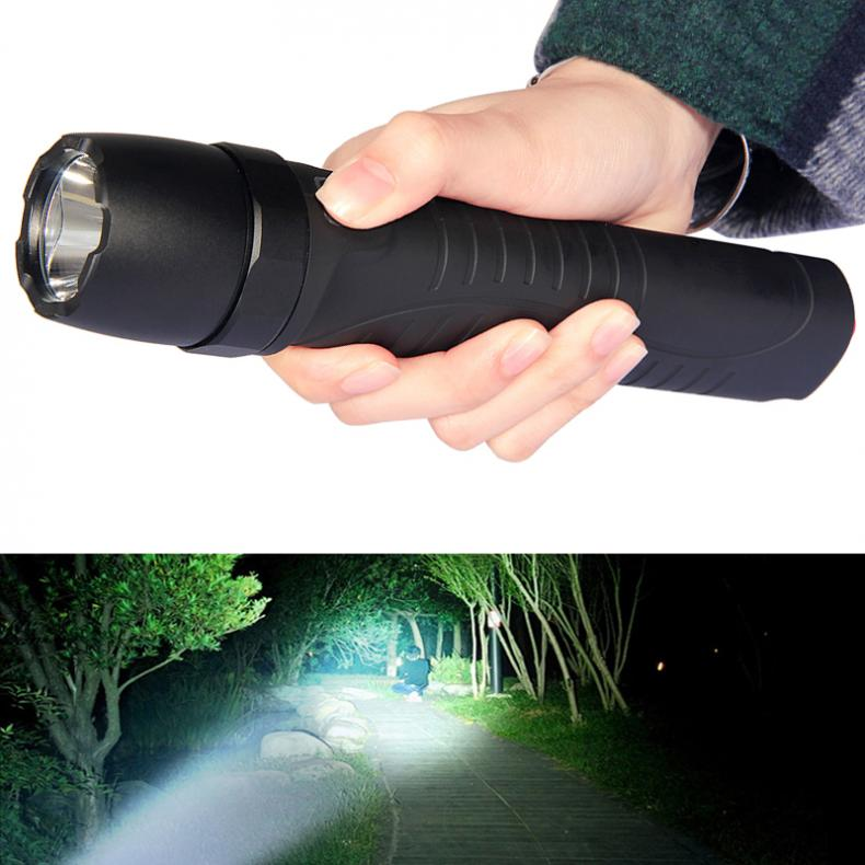 Portable 5W 450Lumens R5 LED Flashlight Glare Rechargeable IP68 2 Meters Underwater with 5 Mode for Hunting Hiking Night FishingPortable 5W 450Lumens R5 LED Flashlight Glare Rechargeable IP68 2 Meters Underwater with 5 Mode for Hunting Hiking Night Fishing