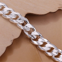 Noble Solid Silver Plated Fashion Bracelet Jewelry