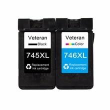 Ветеран PG745 CL746 сменный для canon картридж для принтера 745 CL 746 XL для Canon Pixma MG2470 MG2570 MG2970 IP2870 IP2872 принтер