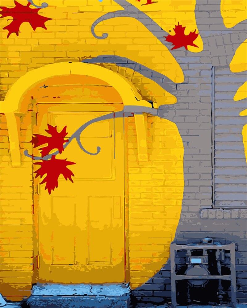 Mermaid Pintu Minyak Lukisan Gambar Dengan Nomor Gambar