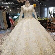 CHANVENUEL LS17740 wedding dress long sleeve floor length