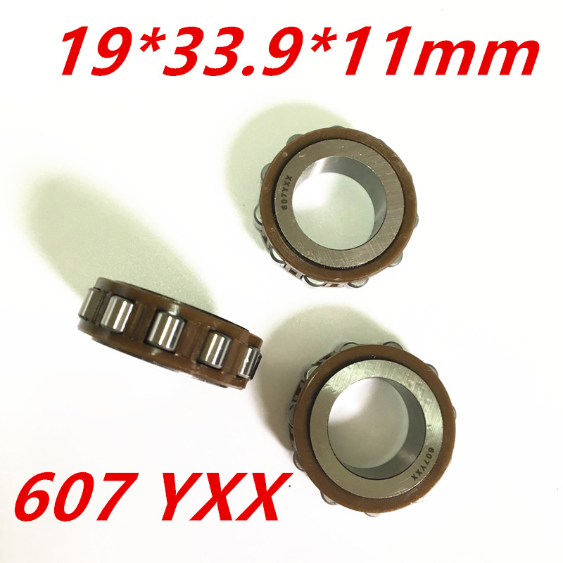 2018 Rushed Real Steel Rolamentos Free Shipping Axk Roller Bearing 607 Yxx Size19*33.9*11mm Best Quality na4910 heavy duty needle roller bearing entity needle bearing with inner ring 4524910 size 50 72 22