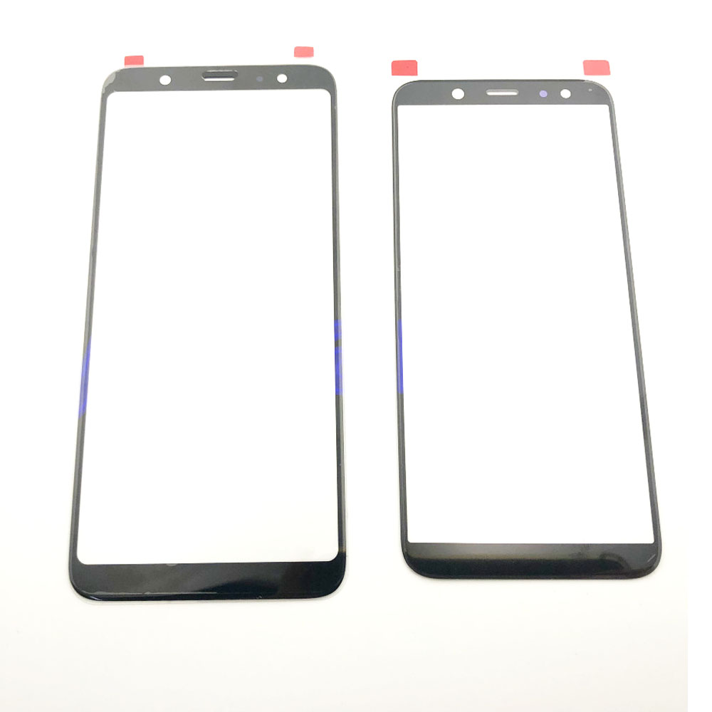 Front Panel For Samsung Galaxy A6 A8 Plus A6Plus A8Plus Touch Screen Sensor LCD Display Digitizer Glass Cover Replacement Part