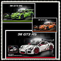 LEPIN 2726PCS DECOOL 3368 technic series 911 GT3 RS Model Building Kits Mini blocks Blocks Bricks Compatible 42056 20001