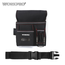 Купить с кэшбэком WORKPRO Multifunction Belt Tool Pouch Tool Holder Electrician Waist Tool Bag Convenient Work Organizer