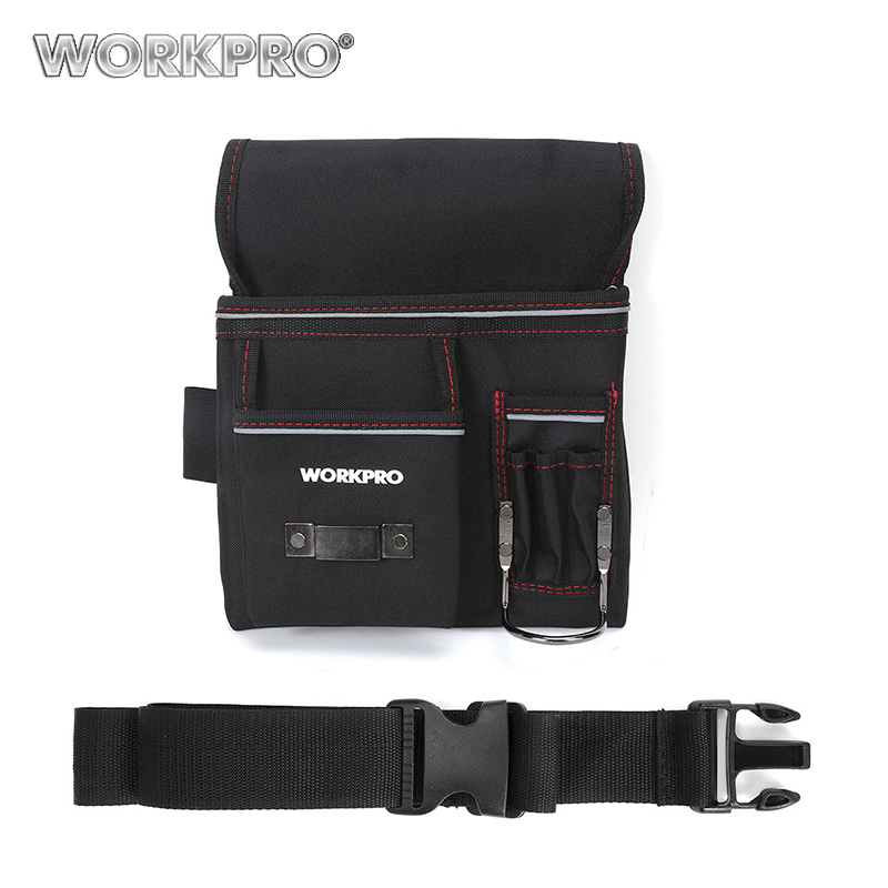 Workpro cinturón multifunción bolsa de herramientas herramienta electricista bolsa de herramientas de la cintura trabajo conveniente organizador