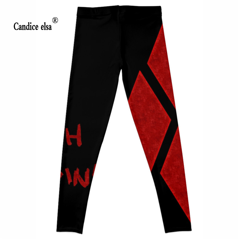 CANDICE ELSA women leggings workout legging fitness female pants elastic elephant printed sexy trousers plus size wholesale in Leggings from Women 39 s Clothing