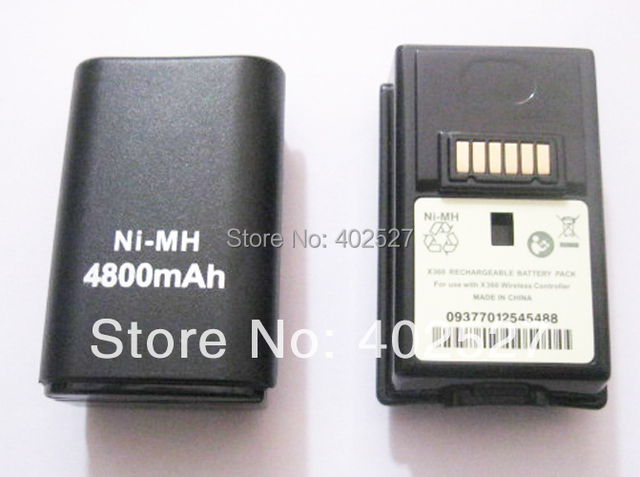 Free shipping Rechargeable Battery Pack FOR XBOX 360 WIRELESS CONTROLLER WHOLESALE AND RETAIL