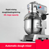 220v / 50hz Automatic dough mixer LC B20 Commercial multi function 20L cream mixer 3 in 1 mixing machine eggbeater 1100w 1PC