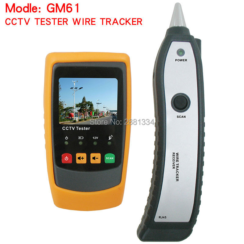 Hight quality Circuit Breaker Finders Wire tracker CCTV tester GM61 wire cable tracker tester